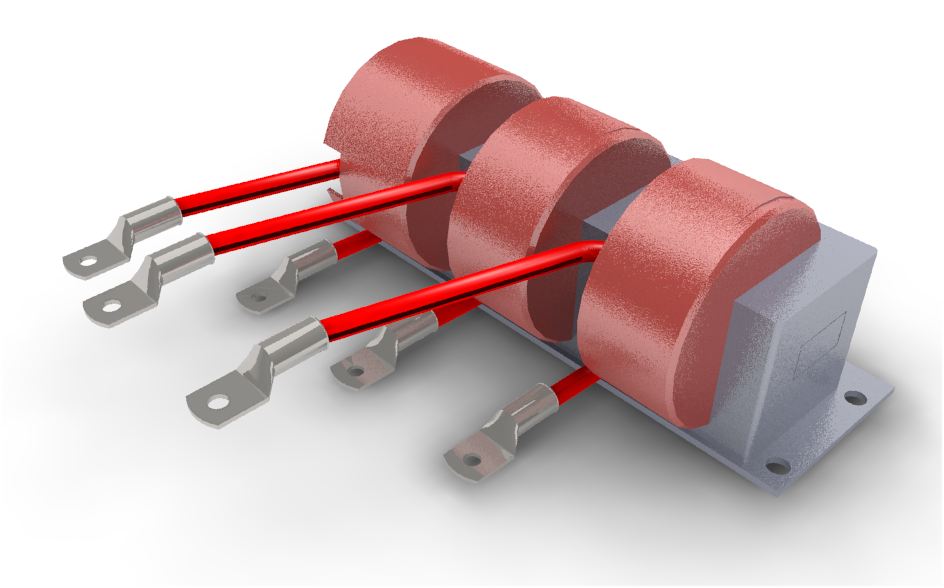 Low Impedance Chokes Ferrite Inductor on radial vs axial capacitor